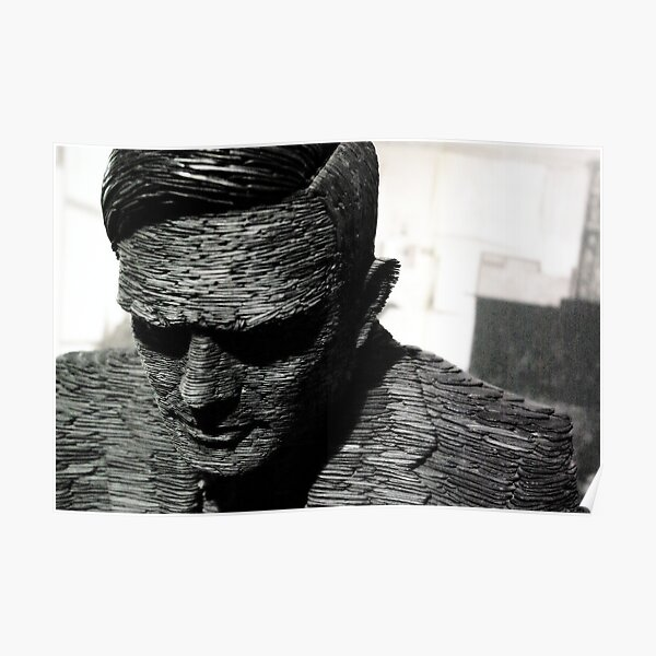 Alan Turing, Bletchley Park Poster