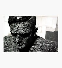 Alan Turing, Bletchley Park Photographic Print
