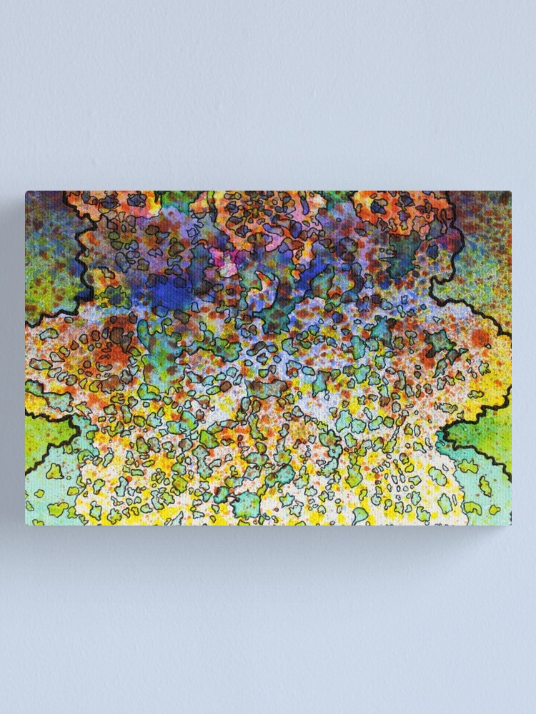 Alternate view of 5, Inset C Canvas Print