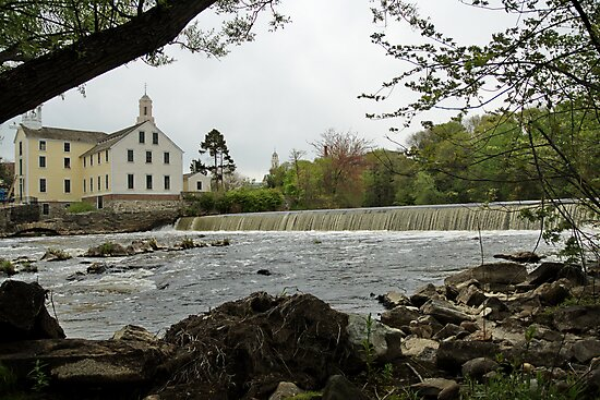 Slater Mill and Dam by Barry Doherty