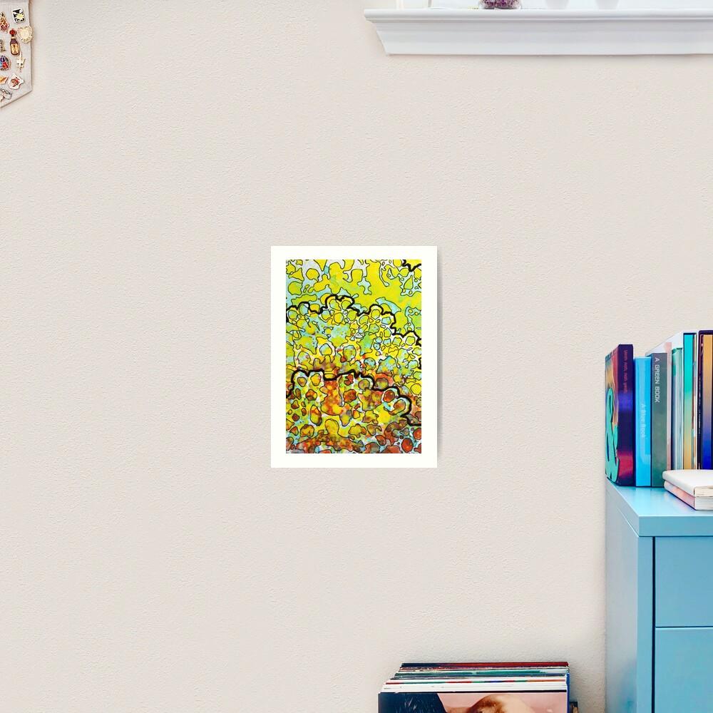 6, Inset A Art Print