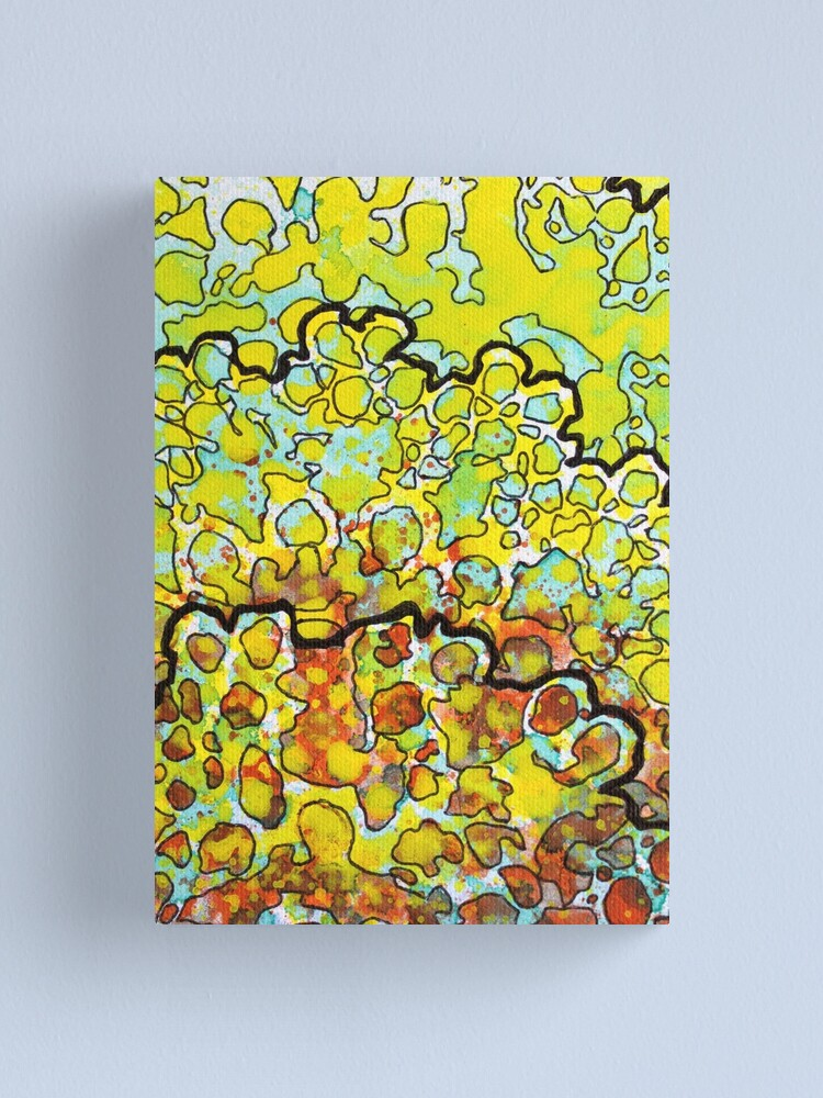Alternate view of 6, Inset A Canvas Print