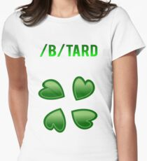 4chan /b/tard Meme Women's Fitted T-Shirt