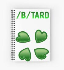 4chan /b/tard Meme Spiral Notebook