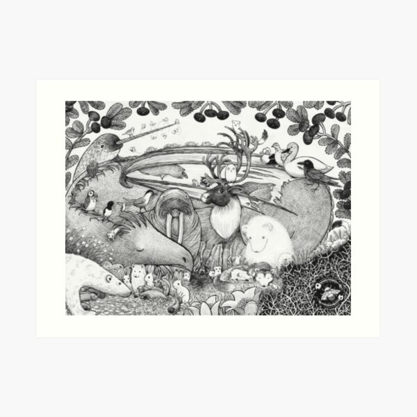Arctic Circle Art Print
