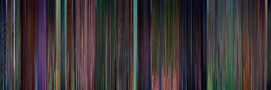 Moviebarcode: Alice in Wonderland (1951) by moviebarcode