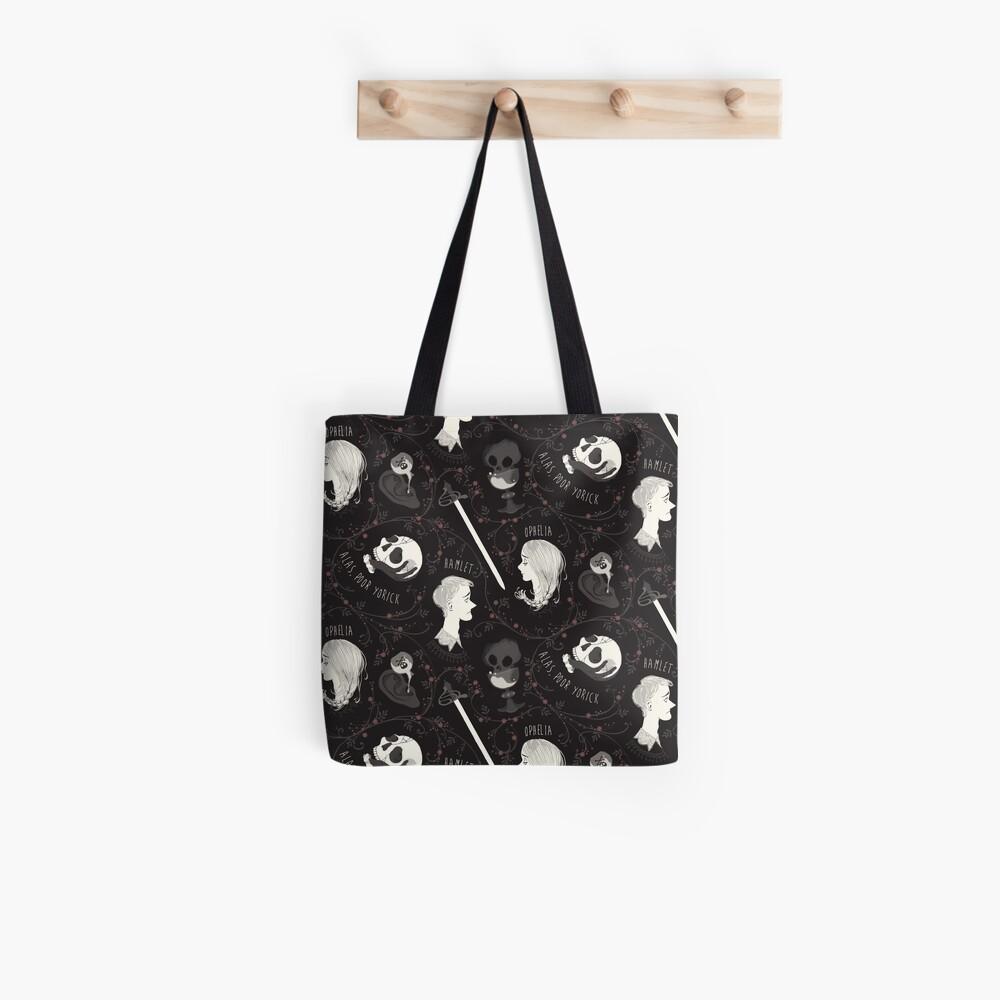 Shakespearean pattern - Hamlet Tote Bag