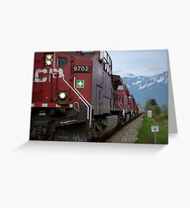 Canadian Pacific Greeting Card