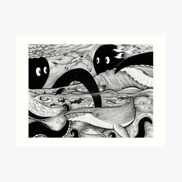 Pirate's Peril Art Print