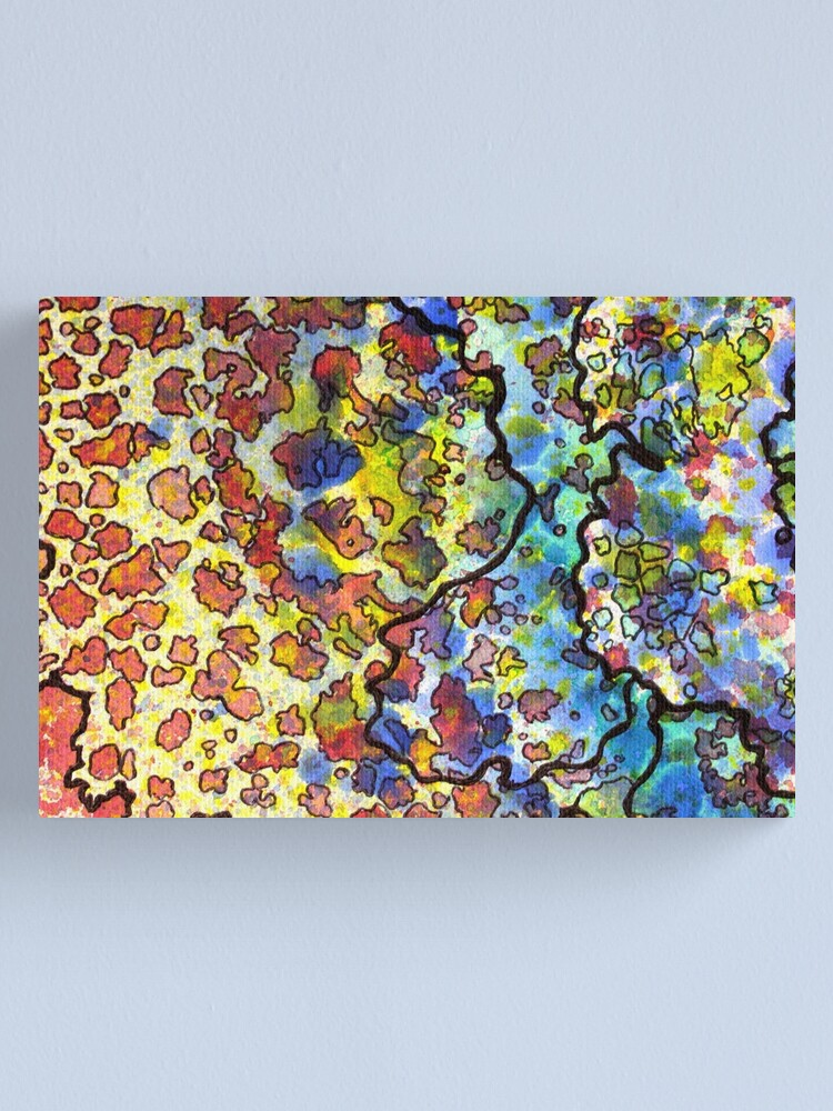 Alternate view of 7, Inset A Canvas Print