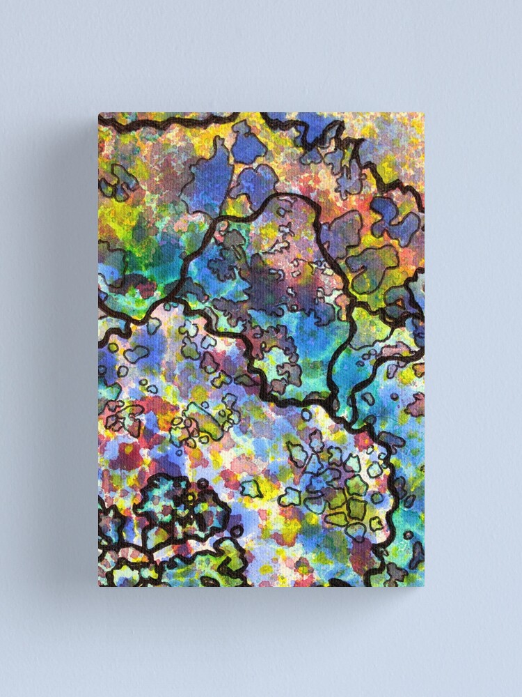 Alternate view of 7, Inset B Canvas Print