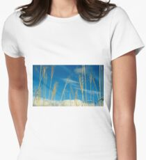Wheat In The Sky Women's Fitted T-Shirt