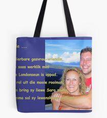 Dedicated to Elizabeth Kendall ... Mother love ... Tote Bag