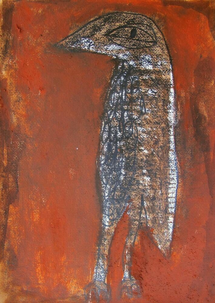 bush curlew by donna malone
