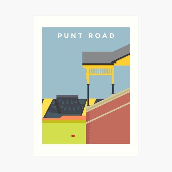 Punt Road Art Print