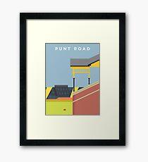 Punt Road Framed Print