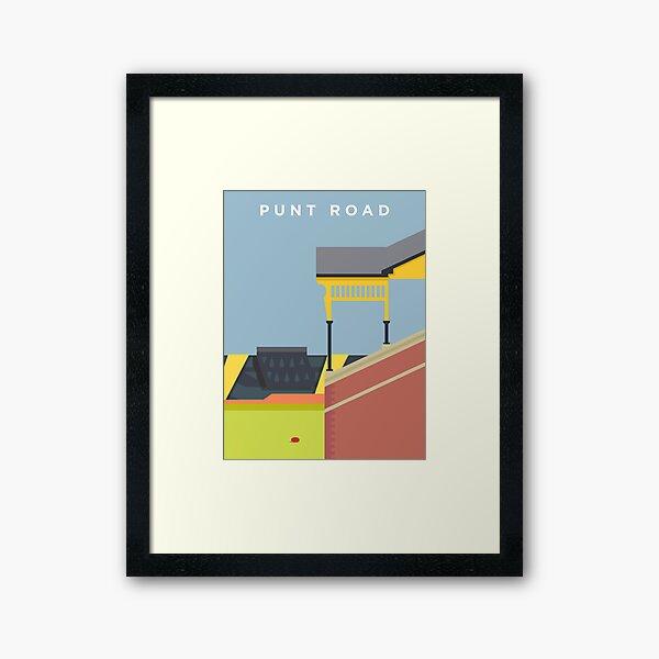 Punt Road Framed Art Print