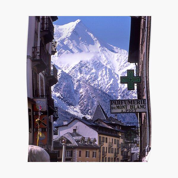 Chamonix, Alpes françaises, Mont Blanc, France. Poster
