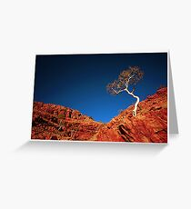 Red Rock, Blue Sky Greeting Card
