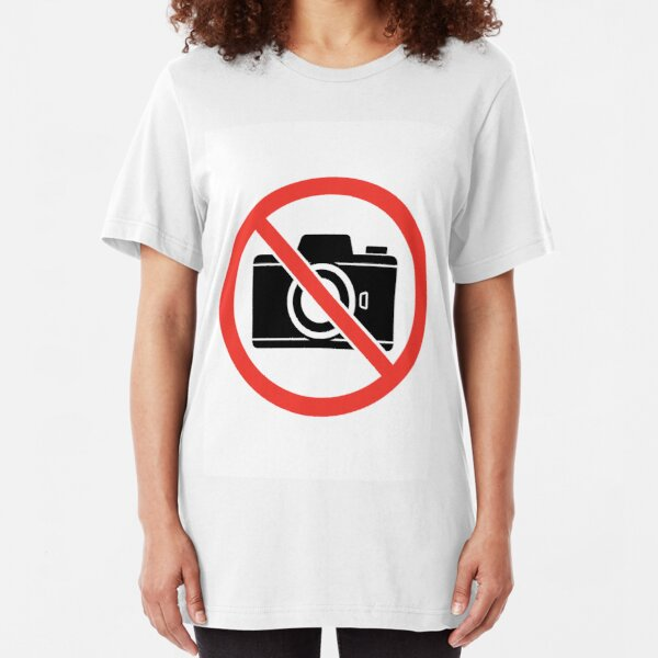 No Pictures Slim Fit T-Shirt