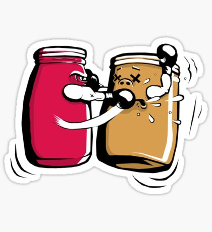 PB&J Fight Sticker