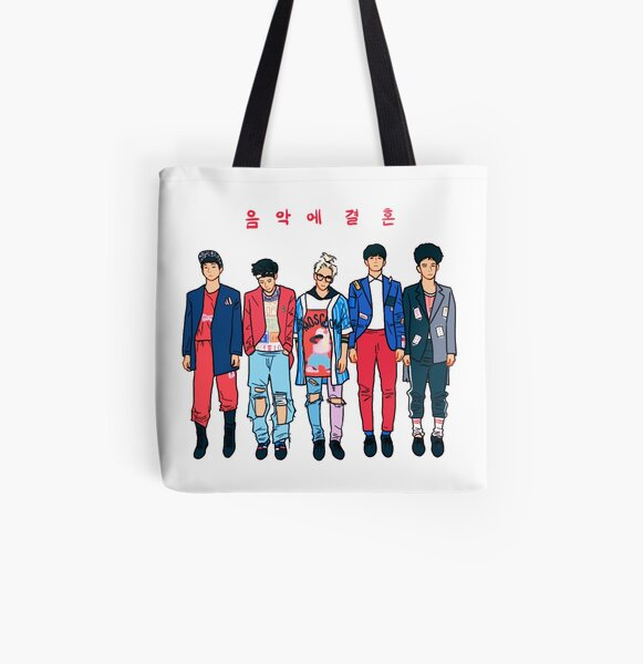 SHINee - Married to the Music All Over Print Tote Bag