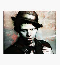 Tom Waits/Ruby Slippers Photographic Print