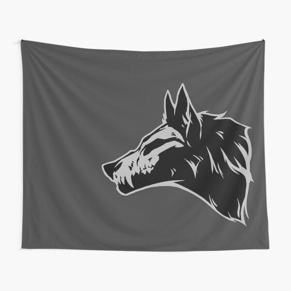 Wolf Skull Tapestry