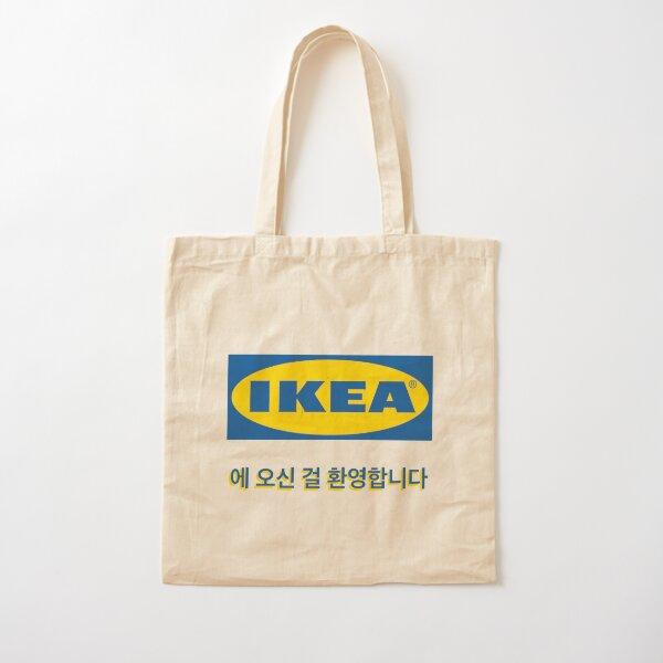 welcome to ikea korea Cotton Tote Bag
