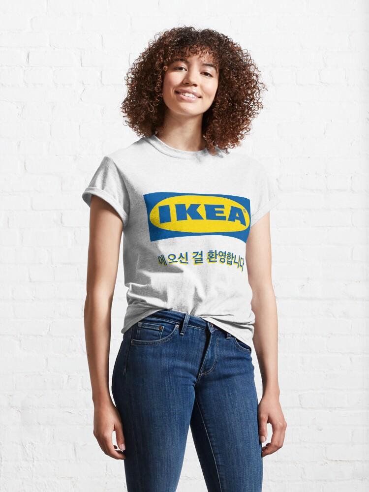 Alternate view of welcome to ikea korea Classic T-Shirt