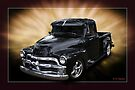 Black Chevy Pickup by Keith Hawley