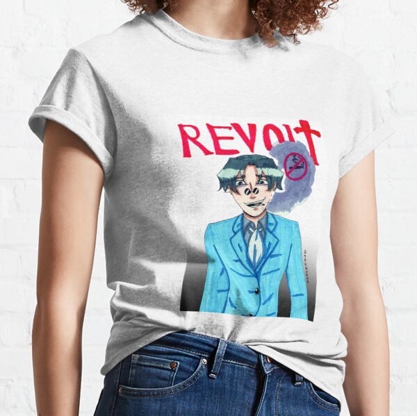 Hye-Ji in Revolt - Traditional Print Classic T-Shirt