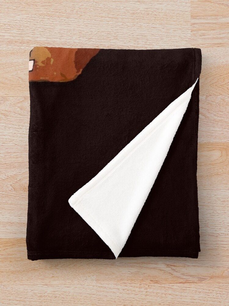 Alternate view of NEEDS MORE COWBELL, PART DEUX Throw Blanket