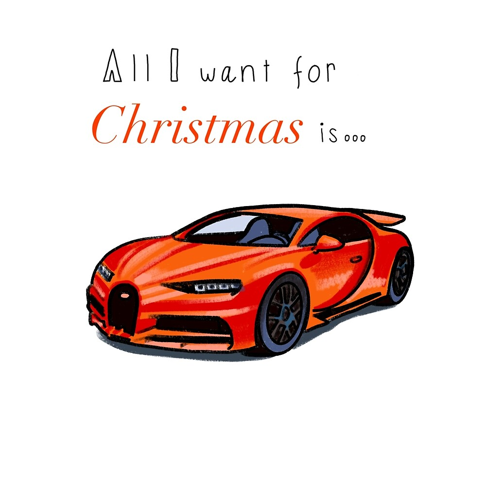 Bugatti sports car by Quick2Draw