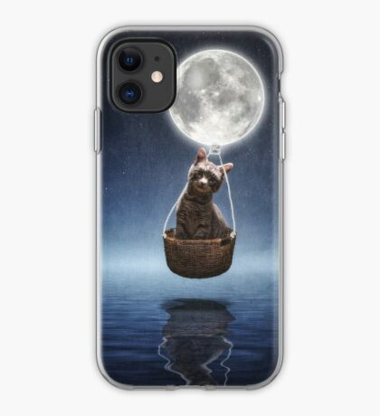 By the Light of the Moon iPhone Case