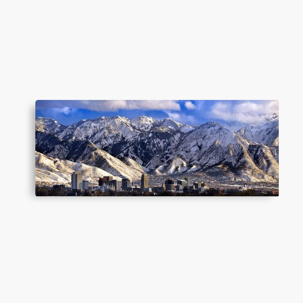 Salt Lake City - Panorama Canvas Print