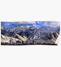 Salt Lake City - Panorama Poster