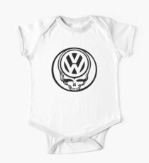 VW Dead Head black One Piece - Short Sleeve