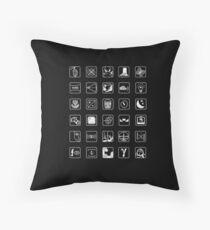 Life is Strange Achievements (Version 3) Throw Pillow