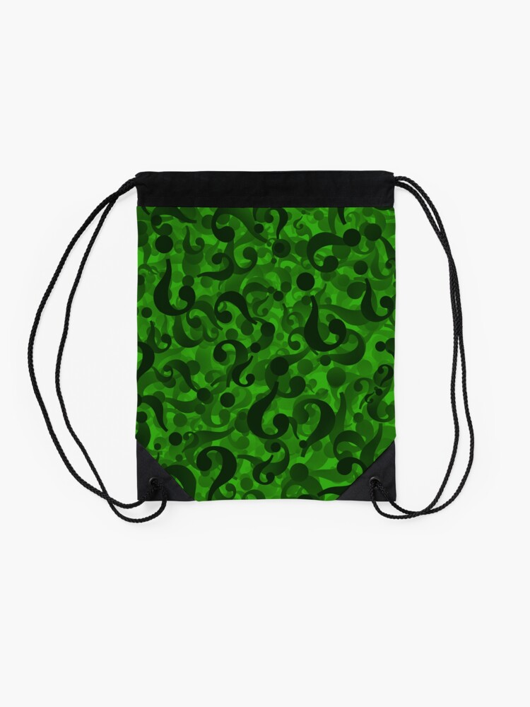Alternate view of  Riddler Drawstring Bag