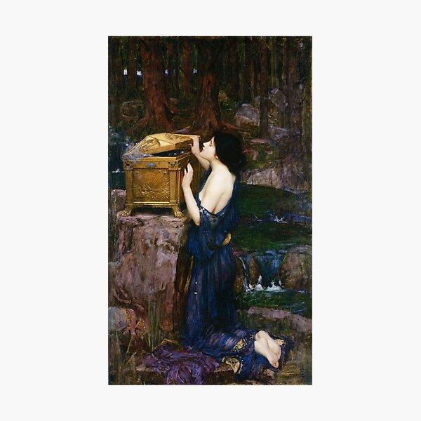 Pandora - John William Waterhouse Photographic Print