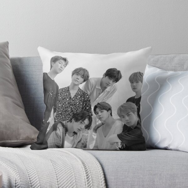 BTS 2020 SEASON GREETINGS Throw Pillow