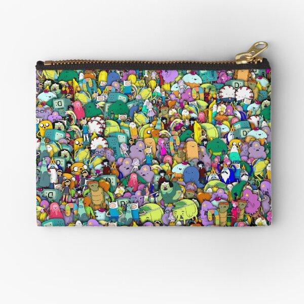 Los personajes de Adventure Time StickerBombing Bolsos de mano