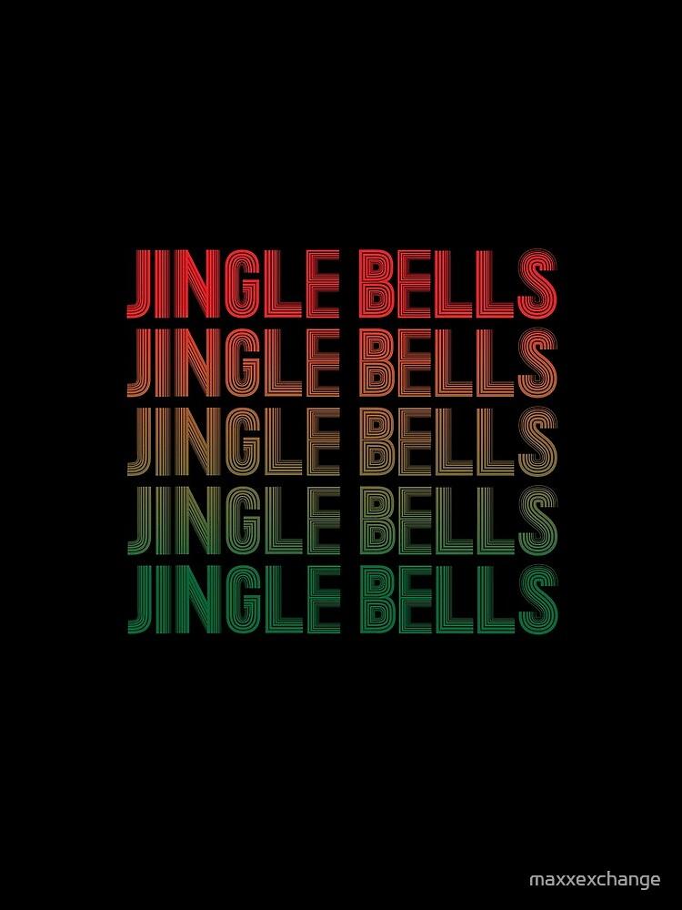 Jingle Bells Retro Christmas Pajama Gift. by maxxexchange