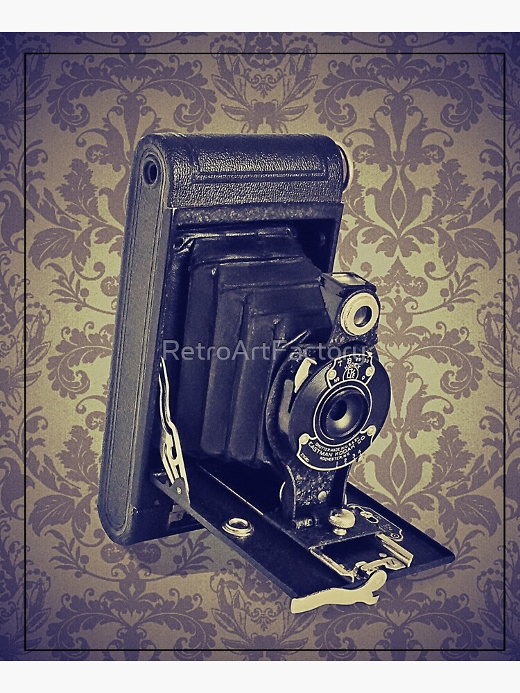 Kodak Hawkeye Camera - Vintage Color by RetroArtFactory