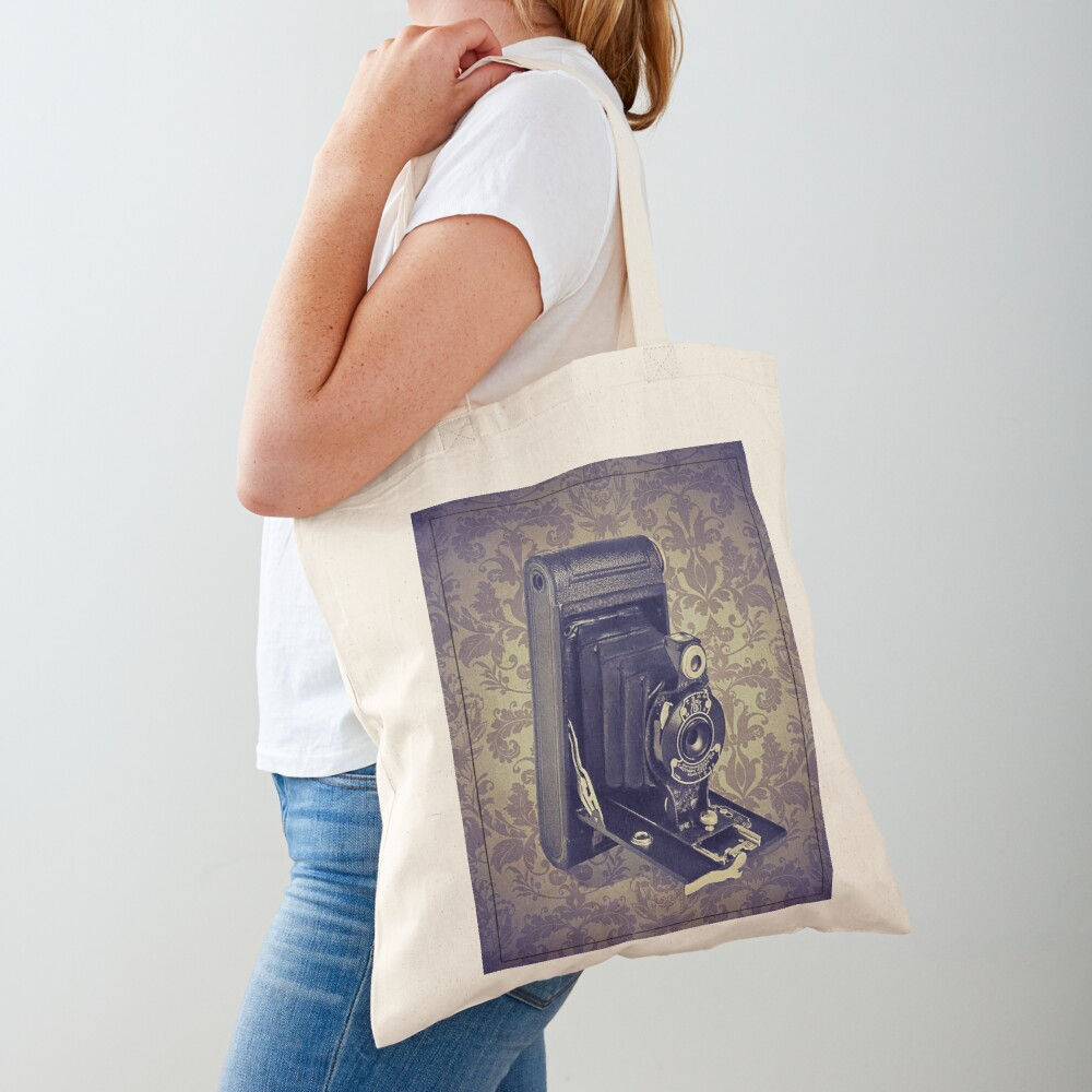 Kodak Hawkeye Camera - Vintage Color Tote Bag
