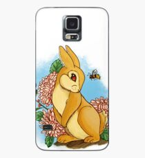 Rabbit and Flowers Case/Skin for Samsung Galaxy