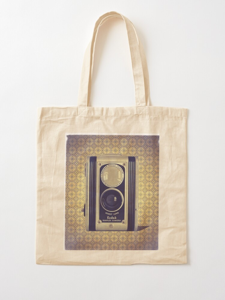 Alternate view of Kodak Duaflex Camera - Vintage Color Tote Bag
