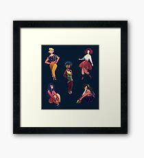 Cool Girls Framed Print
