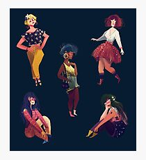 Cool Girls Photographic Print